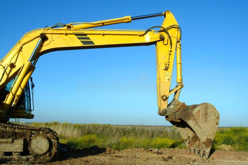 Download Grävskopa arkivfoto. Bild av hjälpmedel, industri, grävskopa - 288482