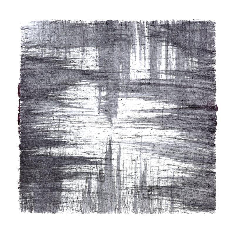 Grå abstrakt bakgrund med slaglängder stock illustrationer
