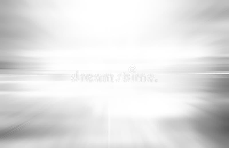 Grå bakgrund för teknologiabstrakt begrepprörelse av hastighetsljus royaltyfri fotografi