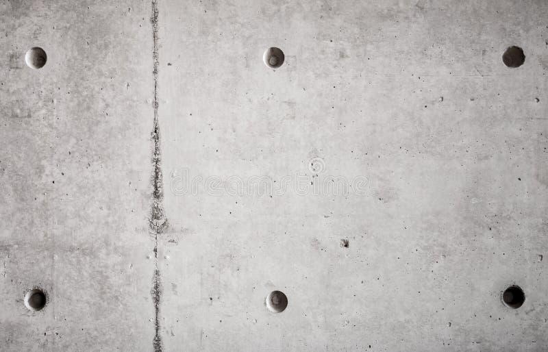 Grå betongvägg, närbildbakgrund arkivfoton