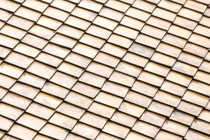 grå färger för beiga för ljus för tegelplattan för ljus för bakgrundsmodelltaket, uppsättningen av trärektanglar tärnar ändlöst arkivfoto