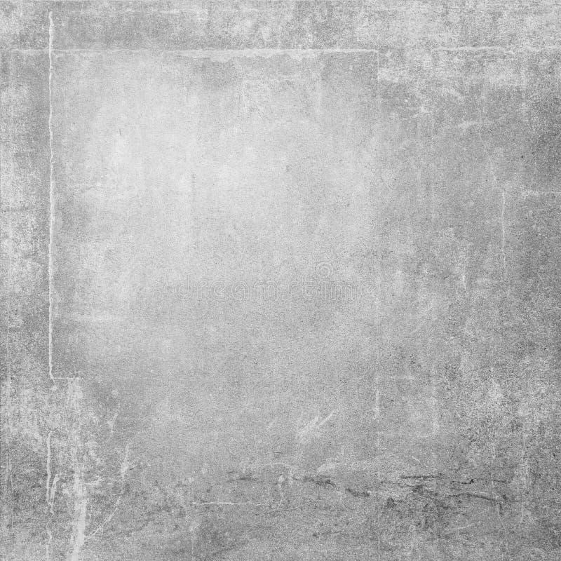 Grå färgväggen texturerar grungebakgrund stock illustrationer