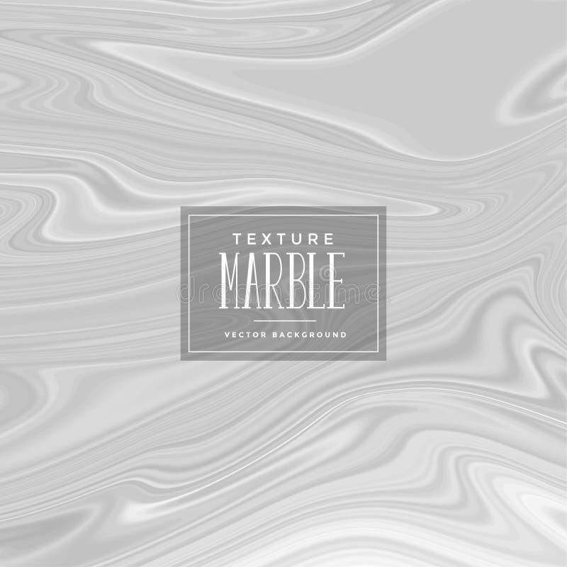 Grå flytande marmorerar texturbakgrund vektor illustrationer
