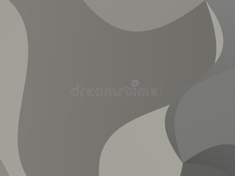 Grå geometrisk bakgrund med trianglar av olika former och våg Vågtrianguleringmodell royaltyfri illustrationer