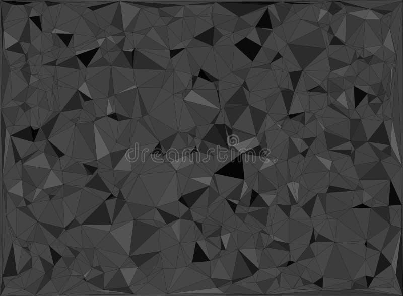 Grå geometrisk design vektor illustrationer