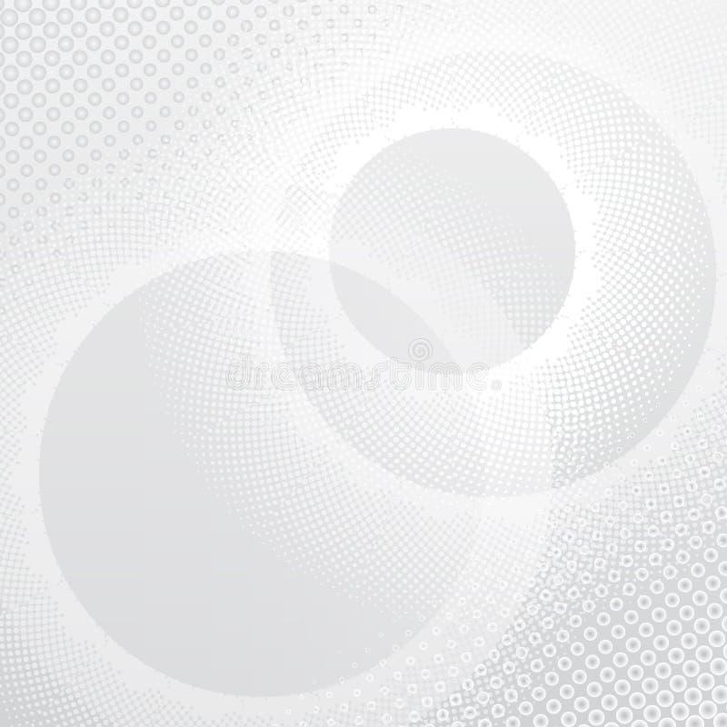 Grå geometrisk teknologibakgrund Abstrakt grafisk design för vektor royaltyfri illustrationer