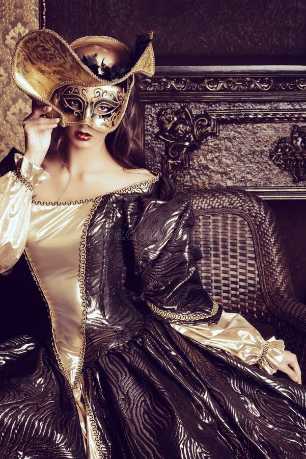grå isolerad maskering för karneval fotografering för bildbyråer