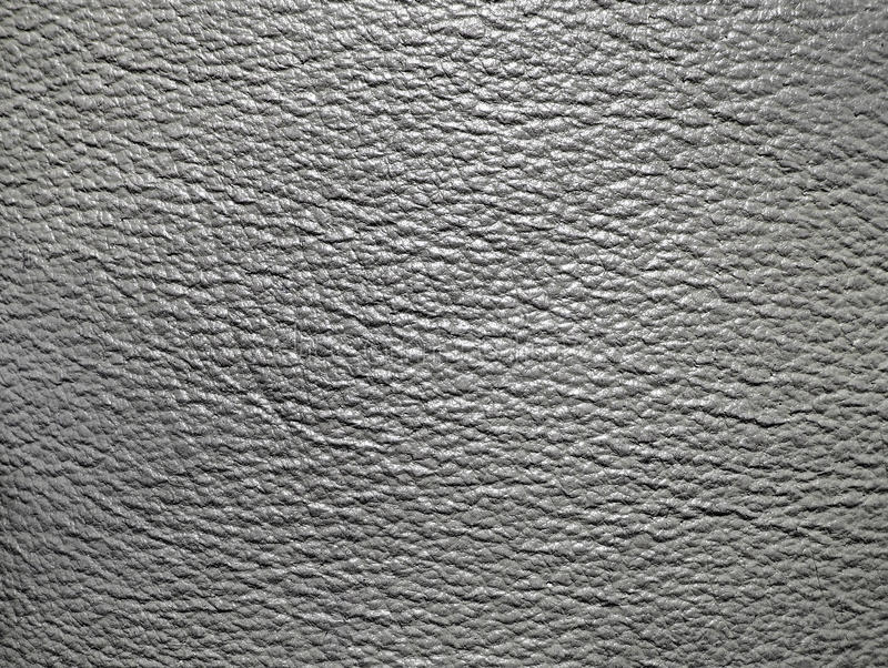 grå lädertextur arkivbild