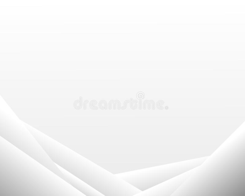 Grå linje abstrakt vektorbakgrund för begrepp vektor illustrationer