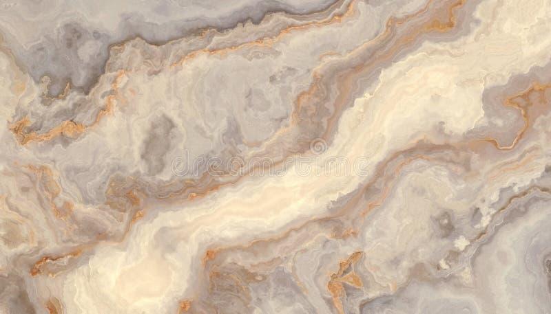 Grå lockig marmor royaltyfri illustrationer
