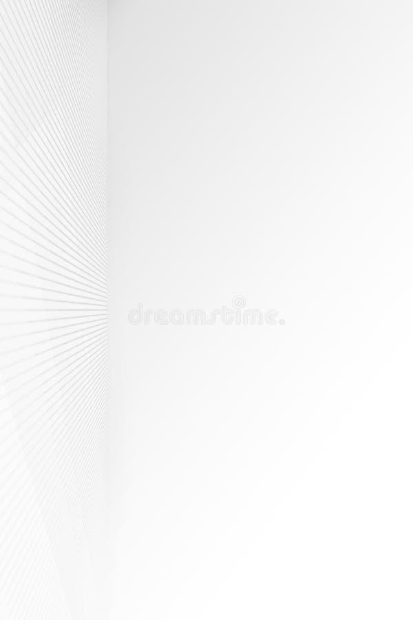 Grå lutning för tom rund remsa med svart fast karaktärsteckninglig royaltyfri illustrationer