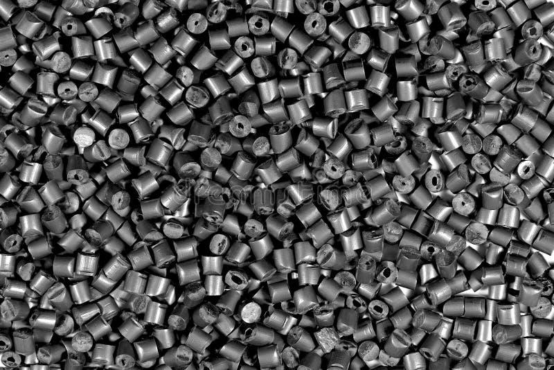 Grå metallisk polymer arkivfoton