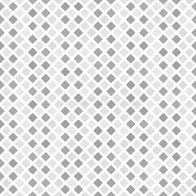 Grå randig diamantmodell seamless vektor för bakgrund vektor illustrationer