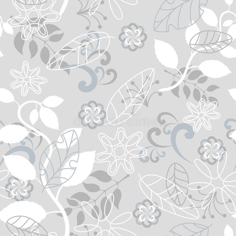 grå seamless naturmodell royaltyfri illustrationer