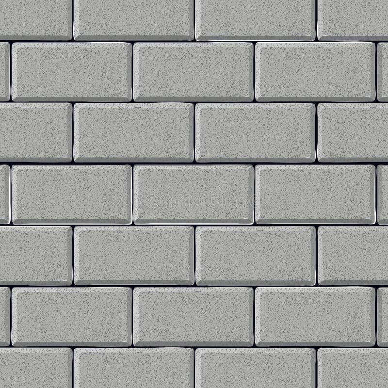 grå texturerad vägg för bakgrundstegelsten royaltyfri illustrationer