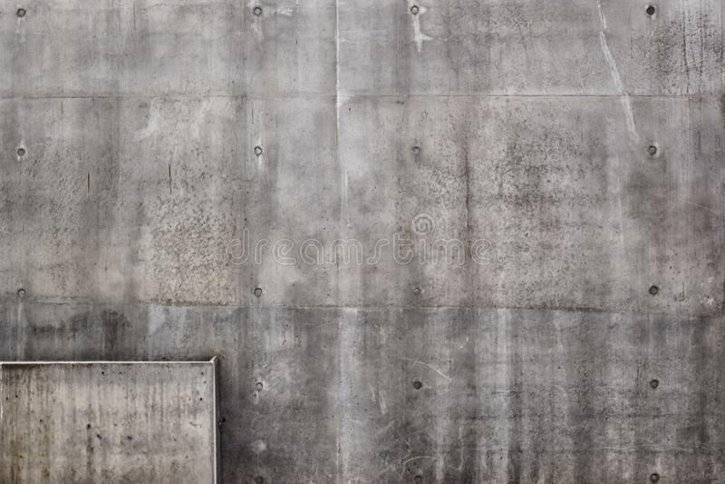 Grå väggtexturbakgrund för att måla arkivbilder