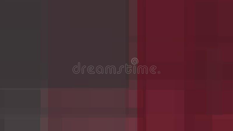 Gråa och röda former bildar en härlig bakgrund stock illustrationer