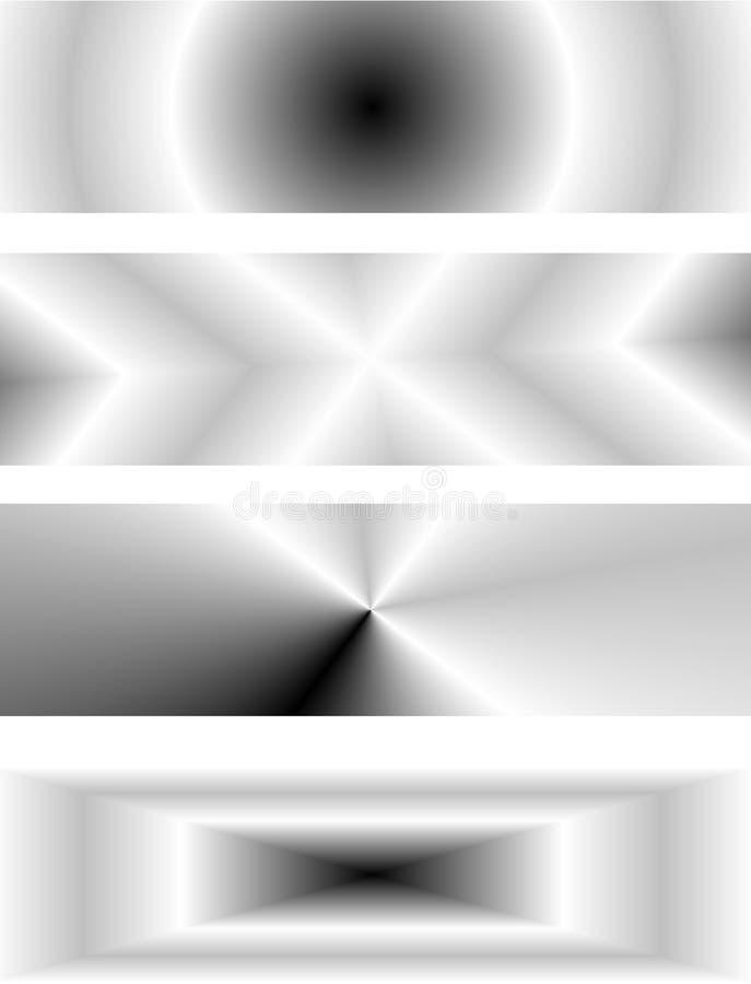 grått stock illustrationer