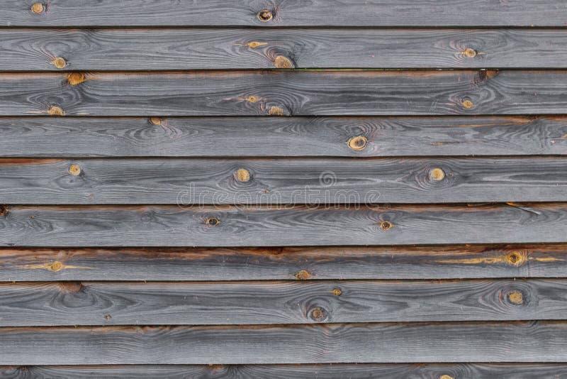 Grått bräde för gammalt trä, bakgrund, textur arkivbild