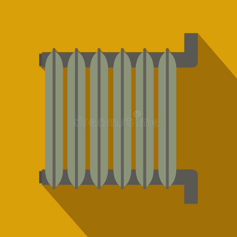 Grått element, lägenhetdesign stock illustrationer
