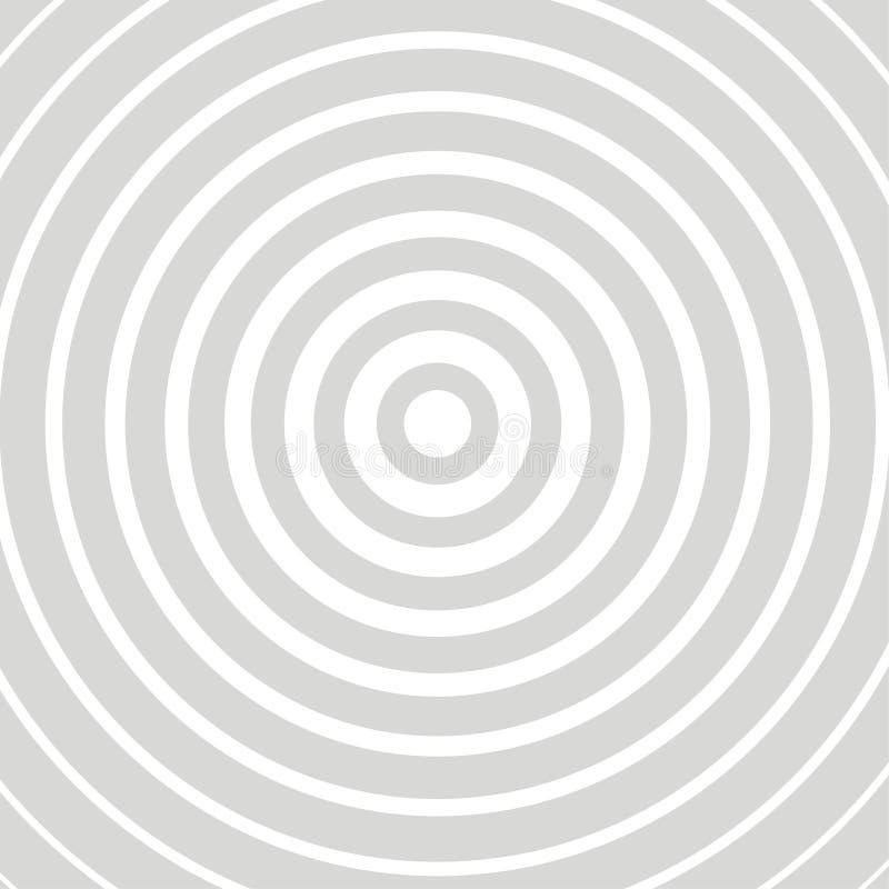 Grått kort för optisk illusion royaltyfri illustrationer