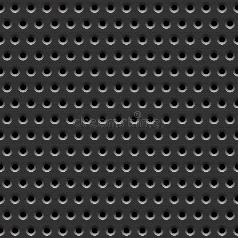 grått metalliskt för bakgrund stock illustrationer