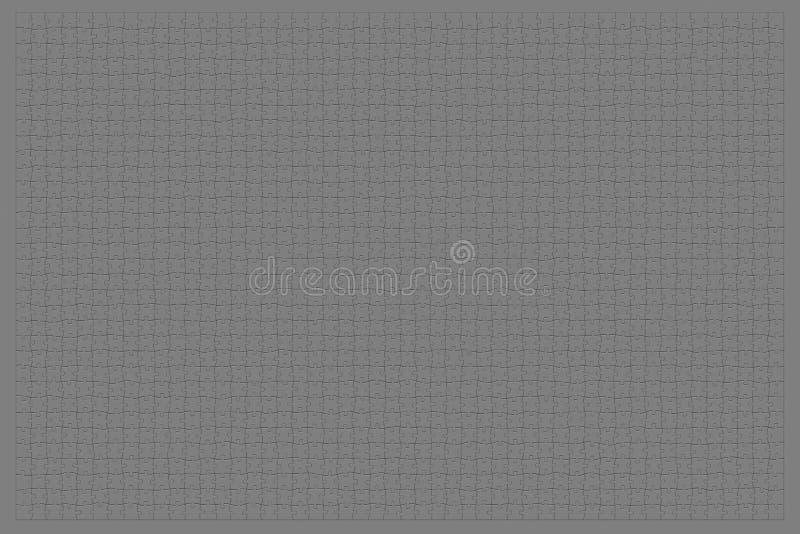 grått neutralt pussel stock illustrationer