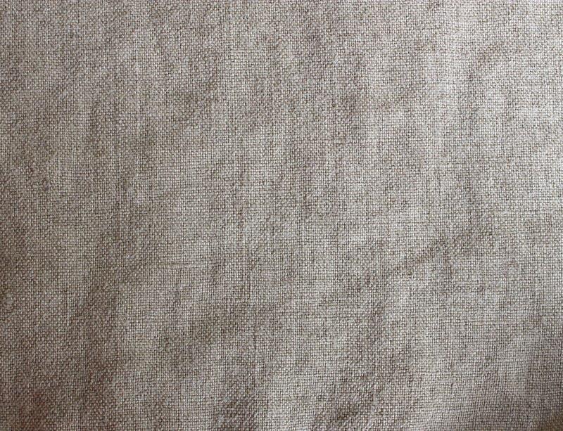 Grått texturerad bakgrund för linne tyg arkivbilder