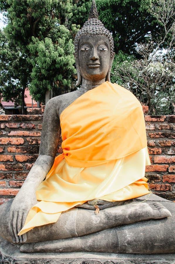 Grès Bouddha image libre de droits