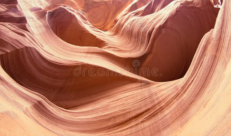 Gr?s de canyon d'antilope en Arizona, Etats-Unis photos stock