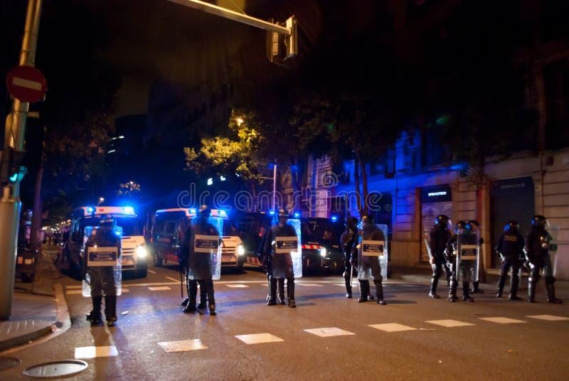 grève 14N européenne générale images stock