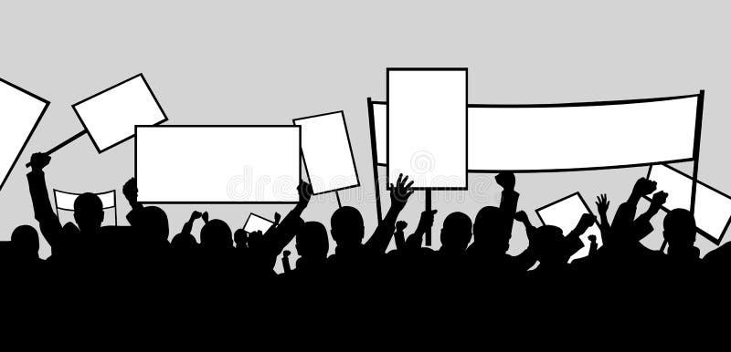 Grève illustration de vecteur