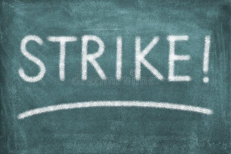 Grève photographie stock
