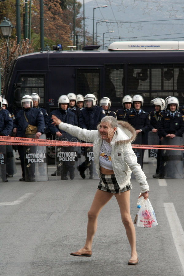 Grève images libres de droits