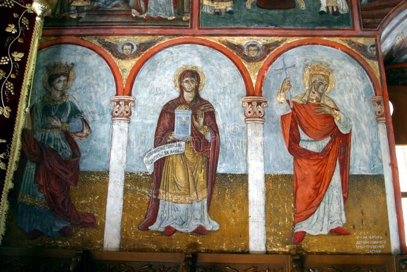Grécia, ilha de Symi, monastério de Panormitis imagem de stock royalty free