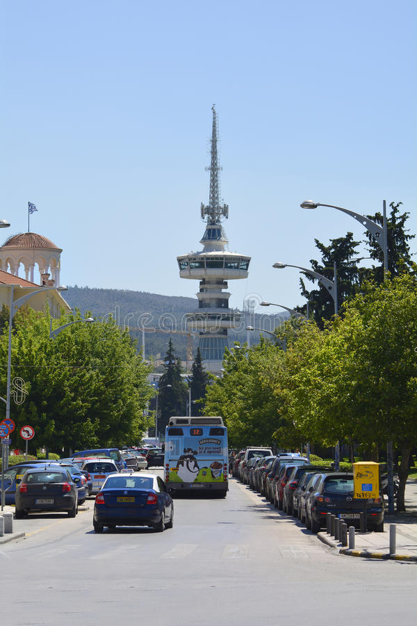Grécia, Tessalónica imagens de stock royalty free