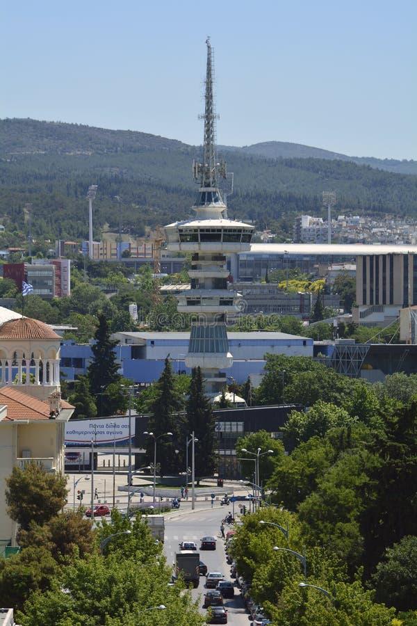 Grécia, Tessalónica, arquitetura imagem de stock royalty free