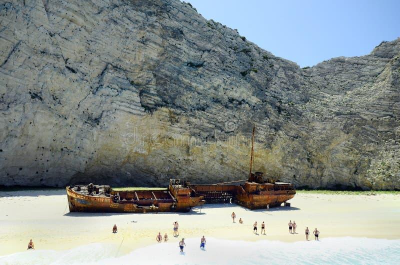Grécia, Zakynthos foto de stock royalty free