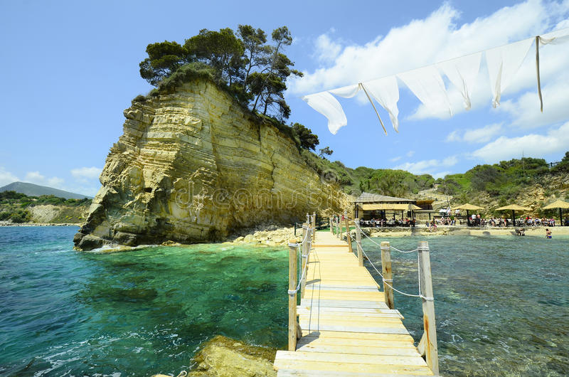 Grécia, Zakynthos fotos de stock