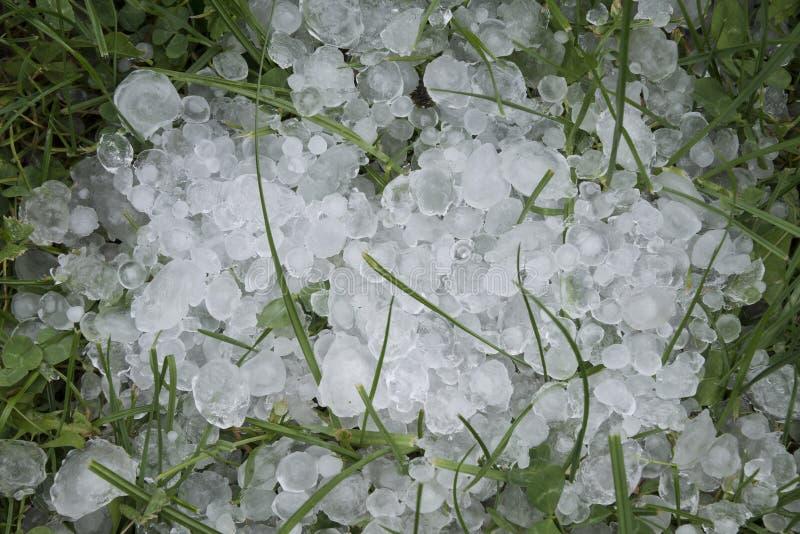 Grélons de glace images libres de droits