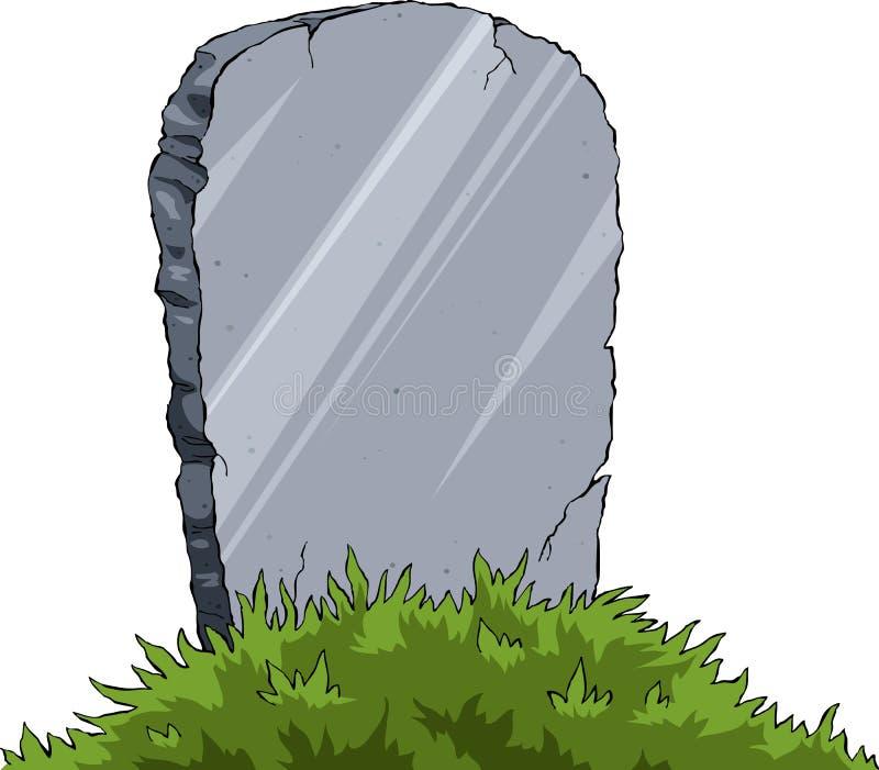 grób royalty ilustracja