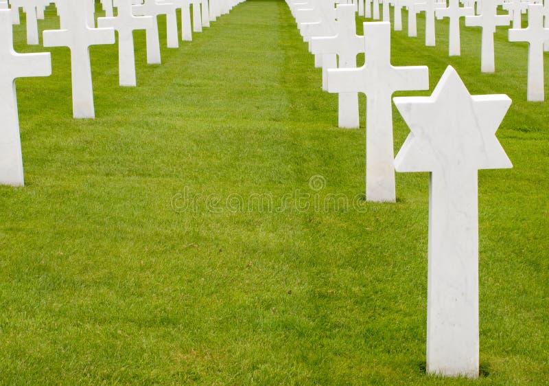 grób amerykańscy żołnierze zdjęcia stock