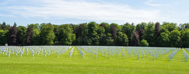 Grób dzielni żołnierze od Ameryka który walczył podczas światu obrazy royalty free