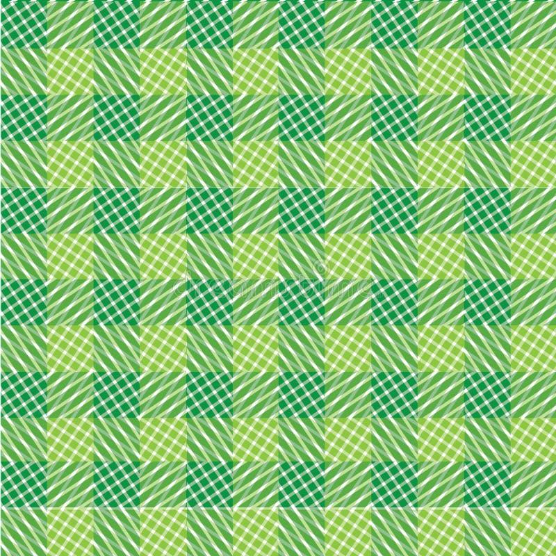 Grön abstrakt geometrisk bakgrund royaltyfria foton