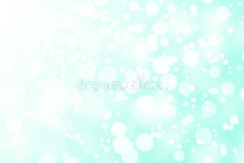Grön abstrakt suddighetsbokeh royaltyfria bilder