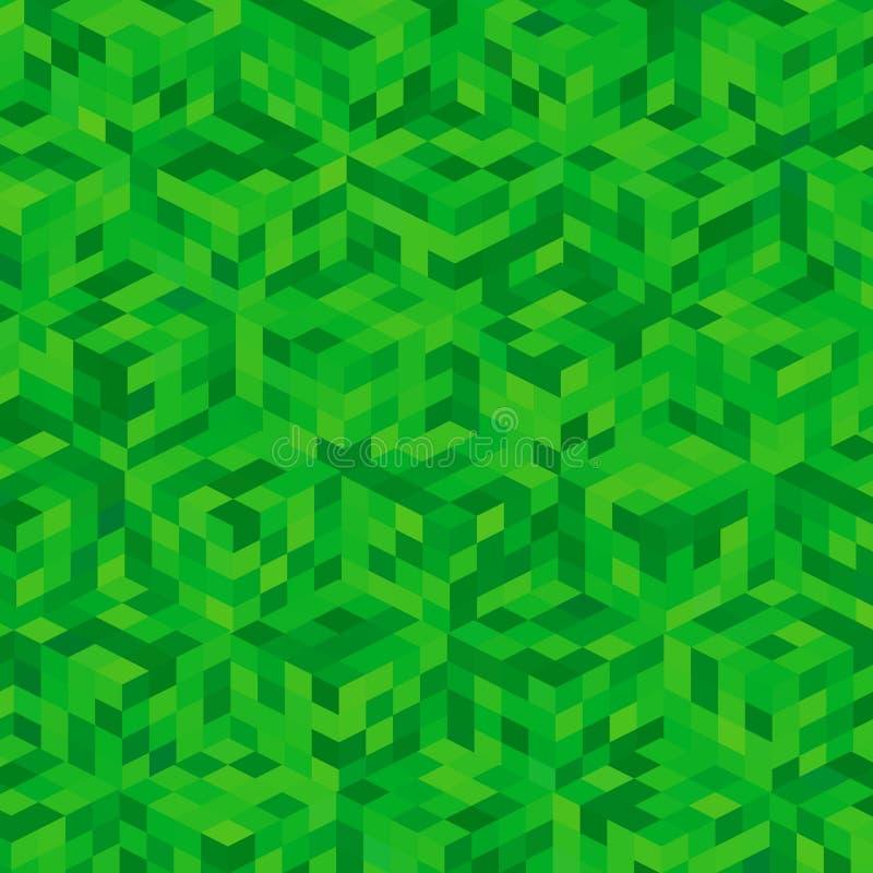 Grön bakgrund stock illustrationer