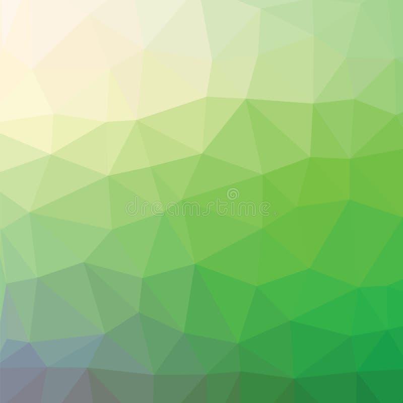 Grön bakgrund vektor illustrationer