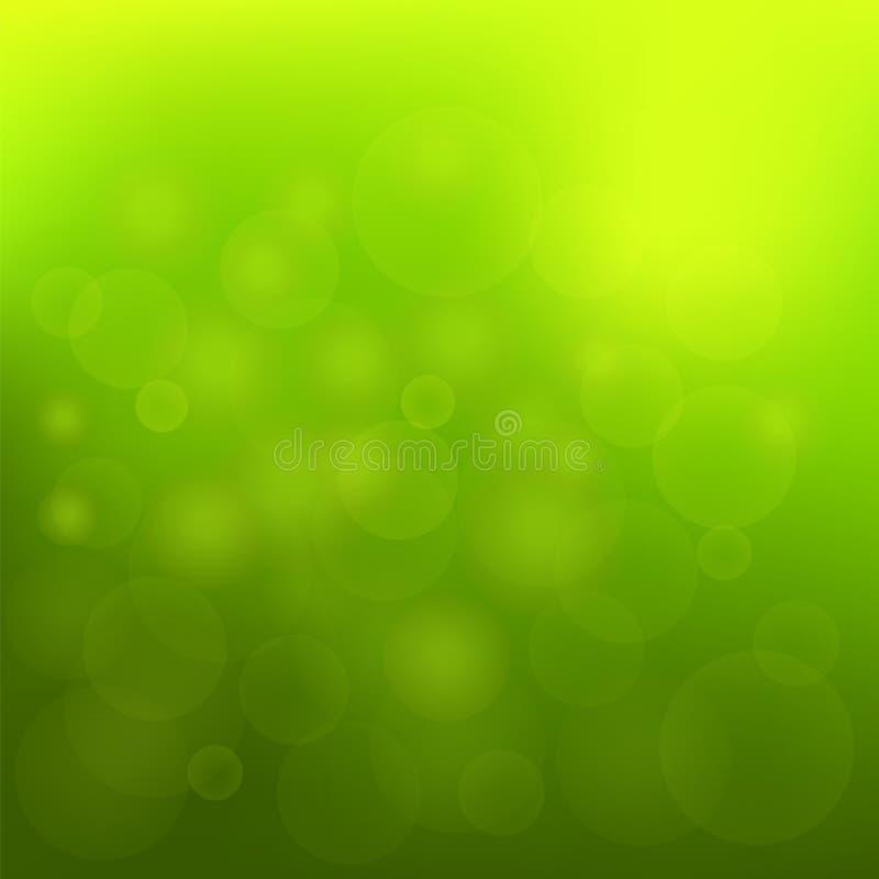 Grön bakgrund royaltyfri illustrationer
