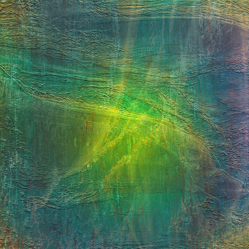 Grön bakgrund för att skapa textur arkivfoto