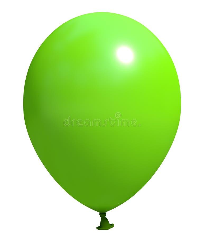 Grön ballong arkivfoton